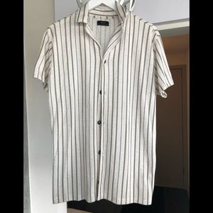 Zara Mens Button Up